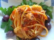 Spaghetti tonno sott'olio saltati padella