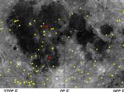 superficie scabra della Luna