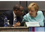 un'offerta aiuto dalla Germania della cancelliera Angela Merkel all'Etiopia formare agenti polizia