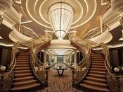 nave crociera lussuosa mondo, sceglie viaggiare 'balconi promenade' resina italiana, realizzati dall'azienda