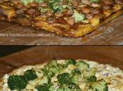 Pizza broccoletto varianti