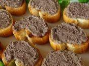 Crostini fegatini pollo ricetta marchigiana