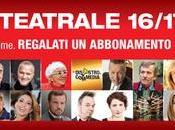Teatro Greco Roma. Stagione 2016/2017. teatro leggero troppo