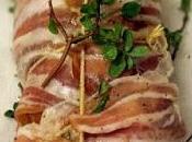 arrosto semplice gustoso: filetto maiale forno pancetta affumicata fontina maggiorana