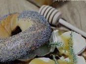 Bagel confettura cipolle, chèvre, miele Corbezzolo timo