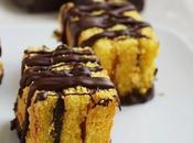 Mattoncini cioccolato marmellata