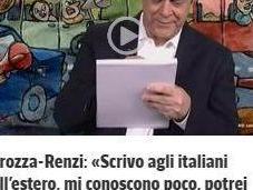 """ESCLUSIVO anche """"poteri forti"""" stanno cominciando averne scarpe piene? primo Crozza antirenzista Corriere: tutto vero!"""