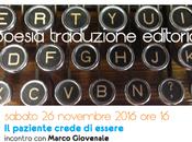 poesia traduzione editoria Morlupo novembre