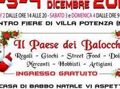 Villa Potenza (Mc) arriva Paese Balocchi, giorni fiera natalizia