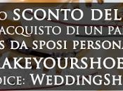 Codice sconto scarpe personalizzate matrimonio MakeYourShoes.it