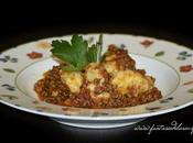 Gnocchi pasta choux ragù