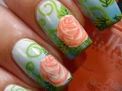Rose Manicure with Pueen Double Tutorial