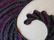 Godzilla scialle Crypto Knitter