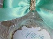 """Pallina natale """"tiffany"""" cristalli"""