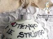 """PALLINE VETRO SATINATO """"Dedica d'Amore"""""""