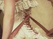 HISTORY FASHION Victorian corset.