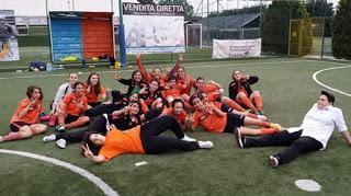 Giovanissime del Casal Torraccia calcio a 5 femminile