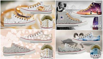 converse alte decorate
