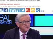 """Juncker: """"smettetela indire referendum sull'europa, perche' l'elettorato voterebbe uscire"""""""