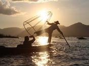 DELLE INDIE Myanmar/I pescatori clown Inle Lake