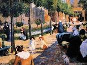 L'Impressionismo Federico Zandomeneghi scena Padova
