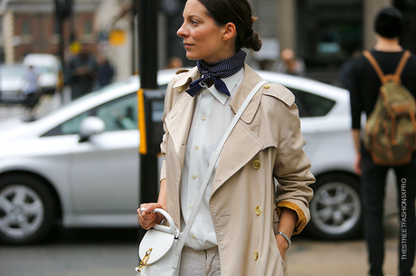 In the Street...Simply Chic...Andreea, London