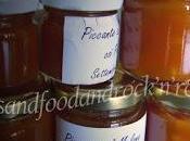 Marmellata piccante melone pinoli, microonde