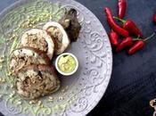 Melanzana ripiena lupini olive taggiasche: eterno ossimoro lei, esempio benessere
