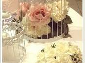 sweet table rose stile romantico