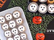 Fantasmini Halloween ovvero bonbon veloci alla ricotta cocco (senza cottura)