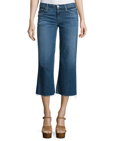 Trend Alert s/s 2016 - Cropped flare jeans