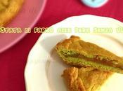 Crostata farro senza uova latticini poco zucchero alle pere pistacchi
