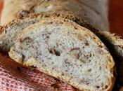 Pane alle noci lievitazione naturale Sourdough walnut bread
