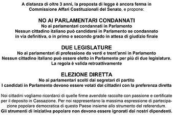Parlamento pulito day spazziamoli via a firenze stand for Parlamento in diretta