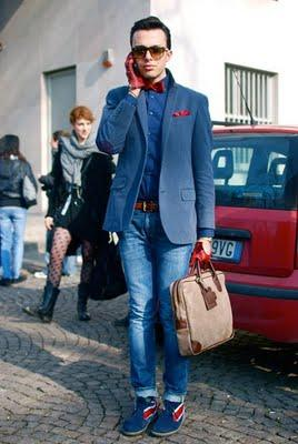 Look from Milan Fashion Week!