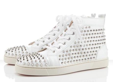 louboutin Sneakers bianca