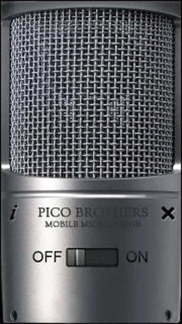 PicoBrothers Microfono Mobile