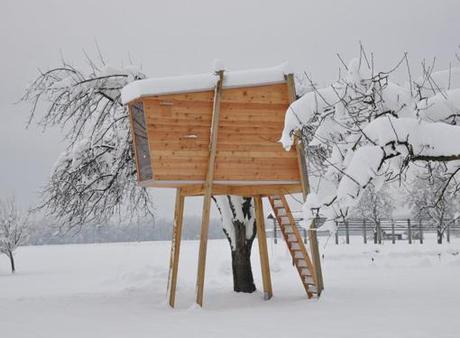 La casa sull albero ecco come costruirla foto gallery paperblog - Casa sull albero progetto ...