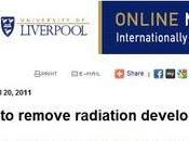 Sviluppata polvere rimuovere radiazioni
