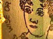 ritratto Jane Austen nascosto sulle nuove banconote cinque sterline