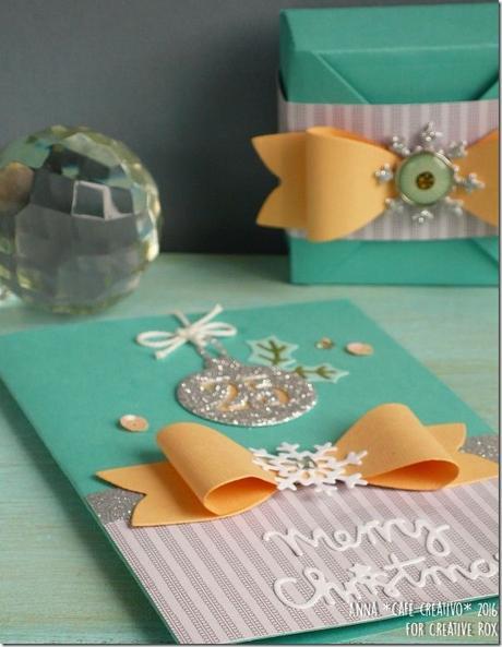Idee natale per card e scatoline creative rox paperblog for Sinonimo sfruttare