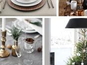 Christmas tableware: tavola delle feste