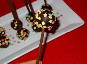Cake pops biscotti