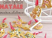 Biscotti speziati Natale appendere all'albero