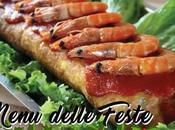 MENU DELLE FESTE: Rocambole camarão (Rotolo gamberetti)