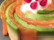 Salmone avocado jogurt