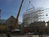 """Basilica Benedetto Norcia messa """"gabbia"""""""