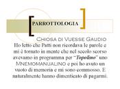 """Patti Smith Manualino Mnemonica... (dimenticato) """"Topolino""""."""