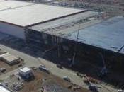Dall'Apple Campus alla Gigafactory Tesla: lavori visti drone