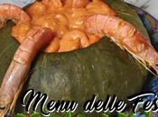 MENU DELLE FESTE: Camarão moranga (Zucca ripiena gamberi)